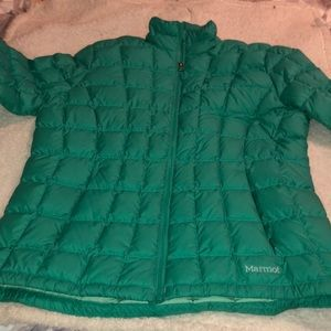 Women's XL Marmot puffer jacket